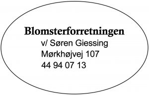 BLOMSTERFORRETNING
